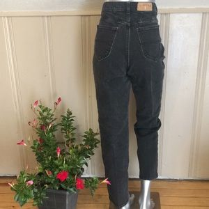 Vintage Riders High Waisted Mom Jeans Faded Black